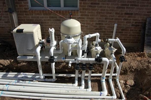 pool plumbing system repair