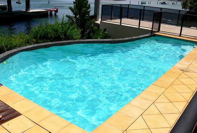 special pool water features