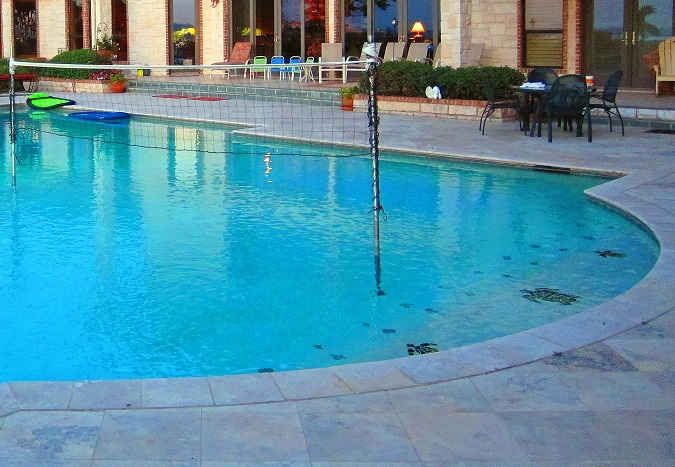 swimming pool deck
