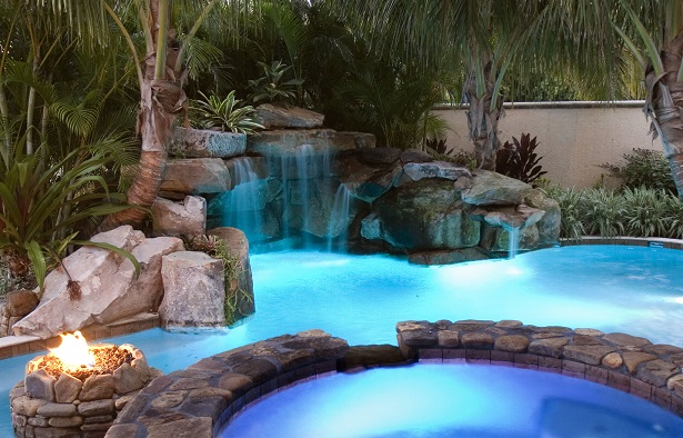 pool decoration - pool design