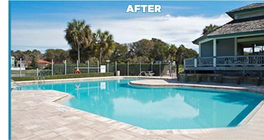 Malibu pool remodeling