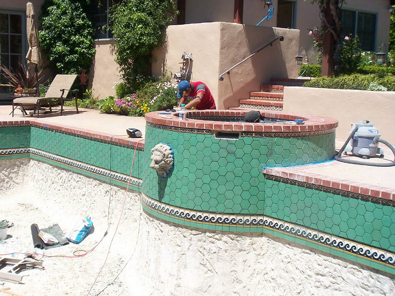 Removal Of Pool Surface Material