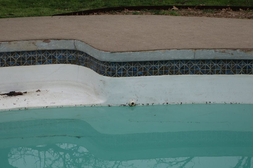 pool structural damages