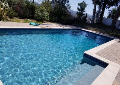 Resurface and Retile in Woodland Hills 1